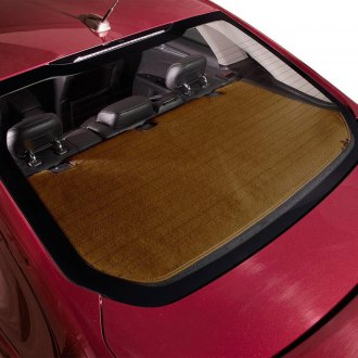 DashMat® - Soft Foss™ Caramel Fibre Carpet Custom Rear Deck Cover