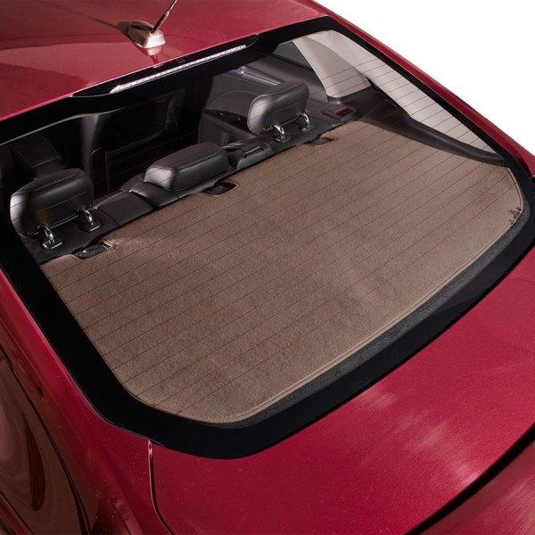DashMat® - Soft Foss™ Mocha Fibre Carpet Custom Rear Deck Cover