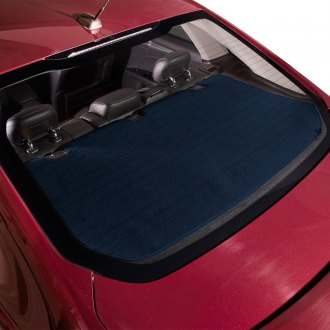 DashMat® - Soft Foss™ Navy Fibre Carpet Custom Rear Deck Cover