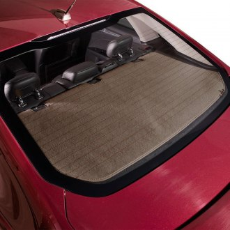 DashMat® - Soft Foss™ Taupe Fibre Carpet Custom Rear Deck Cover