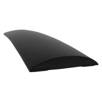 "Dawn® - 1 3/8"" Wide Matte Black Half Round Molding"