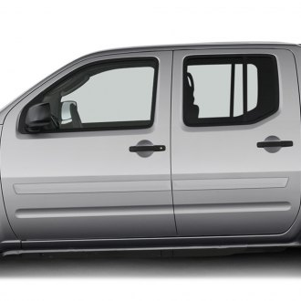Glossy Carbon Fiber Side Door Handle Covers Trims For 2005-2019 Nissan Frontier