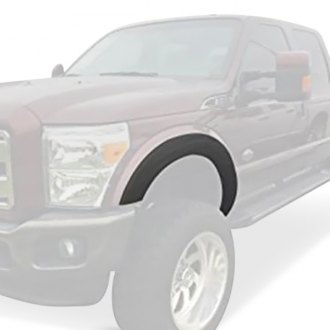 Dawn® - Street Black Front and Rear Fender Flares