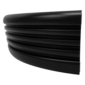 "Dawn® - GMC Style 2 3/8"" Wide Matte Black Factory Match Molding"