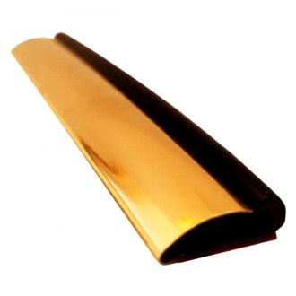 "Dawn® - 1/2"" Wide Gold Molding with Upper Matte Black Strip Trim Molding"