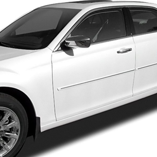 Image may not reflect your exact vehicle! Dawn® - Painted Bodyside Molding with Chrome Insert