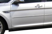 Dawn® - Painted Bodyside Molding with Chrome Insert