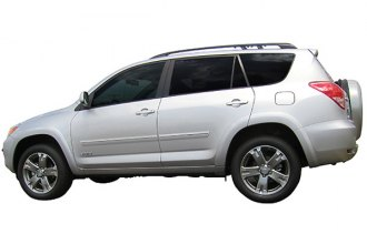Dawn® CF2-RAV4 - Painted Bodyside Molding with Chrome Insert