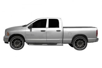 Image may not reflect your exact vehicle! Dawn® - Chrome Lower Bodyside Moldings