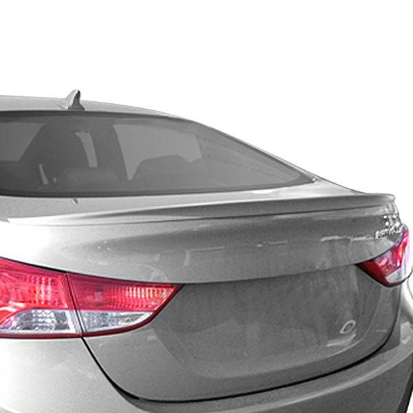 Elantra Modified 2013 on Dawn     Hyundai Elantra 2011 2013 Custom Style Flush Mount Rear