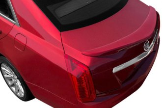 Dawn® SA-CTS14-FM-UNPAINTED - Factory Style Flush Mount Rear Spoiler (Unpainted)