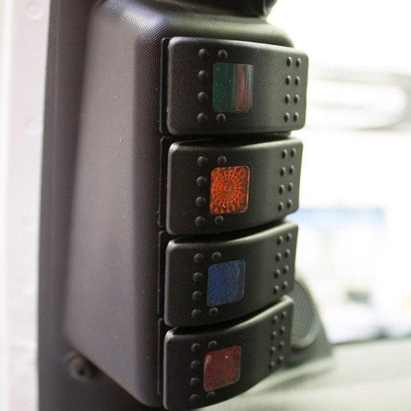 daystar kj71055bk pillar switch panel. Black Bedroom Furniture Sets. Home Design Ideas