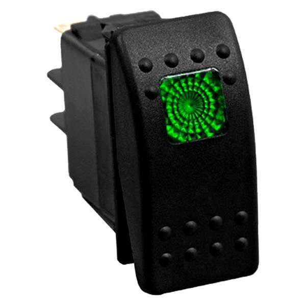 Daystar® - Rocker Switch (Green)
