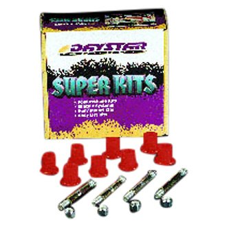 Daystar® - Front or Rear Greasable Shackle Bolt and Bushing Kit