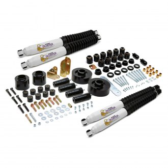 "Daystar® - 4"" x 4"" ComfortRide™ Combo Front and Rear Suspension Lift Kit"
