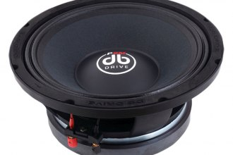 "db Drive® - 10"" Elite Pro Audio Series 500W 8 Ohm Midrange Speaker"