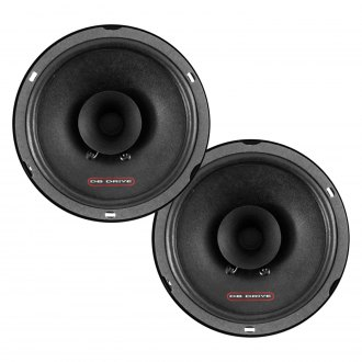 "db Drive® - 6-1/2"" 2-Way S Series 130W Coaxial Speakers"