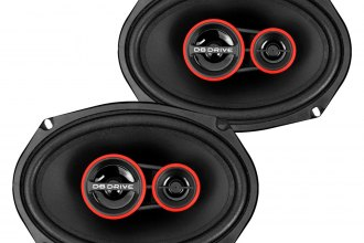 "db Drive® - 6"" x 9"" S1v2 Series 300W 3-Way Speakers"