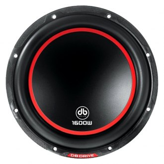"db Drive® - 12"" K6 Series 1600W 2 Ohm Subwoofer"