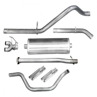dB® - Sport™ Stainless Steel Single Cat-Back Exhaust System with Split Rear Exit