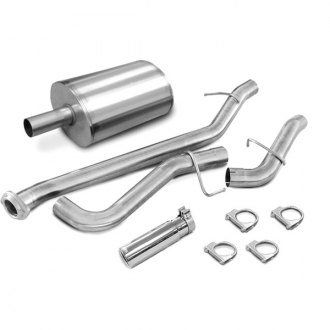 dB® - Sport Polished Stainless Steel Cat-Back Exhaust System - Single Side Exit