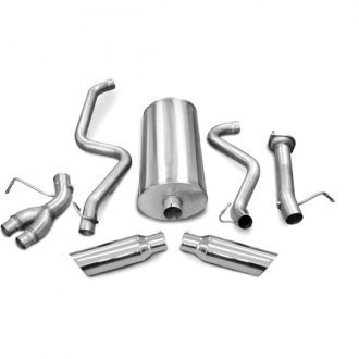 dB® - Sport Polished Stainless Steel Cat-Back Exhaust System - Split Side Exit