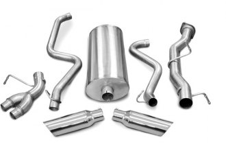 dB® 24895 - Sport Stainless Steel Cat-Back Exhaust System - Split Side Exit