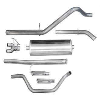 dB® - Sport™ Stainless Steel Single Cat-Back Exhaust System with Dual Under the Bumper Exit