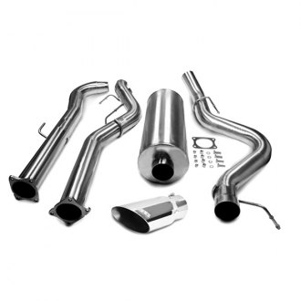 dB® - Sport Polished Stainless Steel Cat-Back Diesel Exhaust System