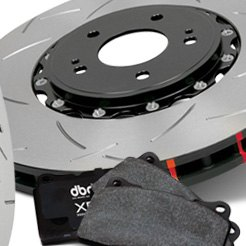 DBA® - 5000 Series™ T3 Slotted Front Rotors