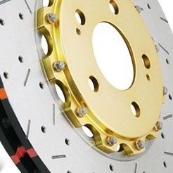 DBA® - 5000XS Series™ Drilled and Slotted Rotors