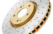 DBA® DBA42524XS - 4000XS Series™ Drilled and Slotted Front Rotor