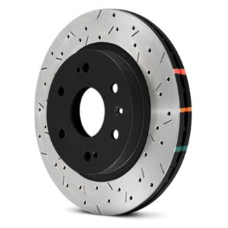 DBA® - 4000XS Series™ Vented Drilled and Slotted Rear Rotor