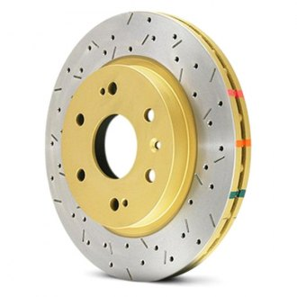 DBA® - 4000XS Series™ Vented Drilled and Slotted Front Rotor