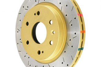 DBA® - 4000XS Series™ Solid Drilled and Slotted Rear Rotor