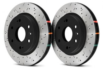 DBA® - 4000XS Series™ Drilled and Slotted Rotor