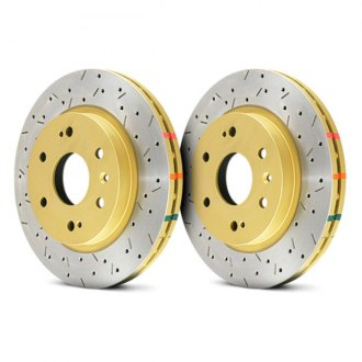 DBA® - 4000XS Series™ Vented Drilled and Slotted Rotor