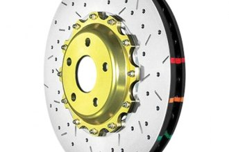 DBA® DBA5069GLDXS - 5000XS Series™ Vented Drilled and Slotted Front Rotor