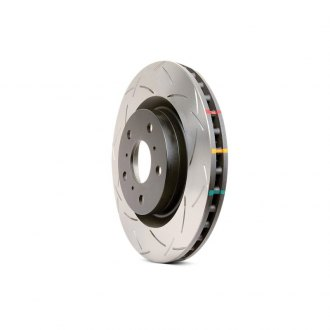 DBA® - CLUBSPEC™ 4000 Series T3 Slotted Vented 1-Piece Front Brake Rotor