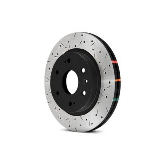 DBA® - HD Series™ 4000XS Series Drilled and Slotted Front Rotor