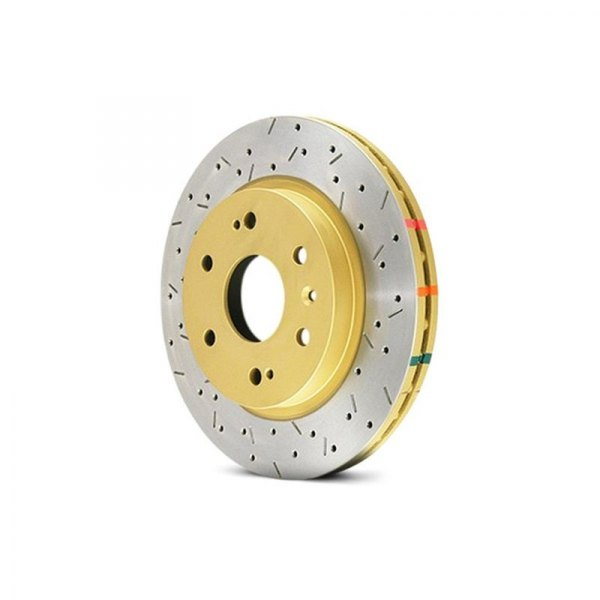DBA® - HD Series™ 4000XS Series Drilled and Slotted, Front Rotor