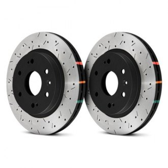 DBA® - HD Series™ 4000XS Series Drilled and Slotted Vented 1-Piece Brake Rotor