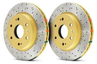 DBA® - HD Series™ 4000XS Drilled and Slotted Rotor