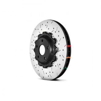 DBA® - HD Series™ 5000XS Series Drilled and Slotted Front Rotor