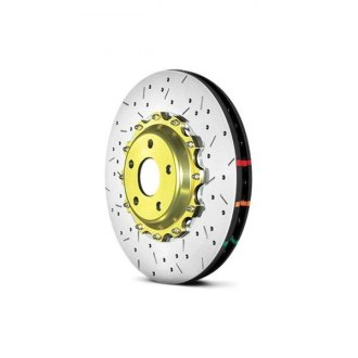 DBA® - HD Series™ 5000XS Series Drilled and Slotted 2-Piece Brake Rotor