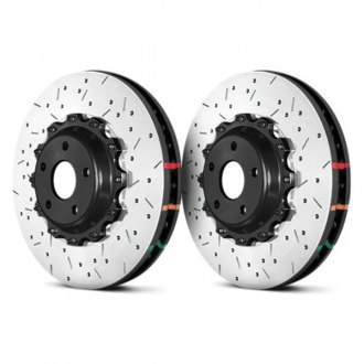 DBA® - HD Series™ 5000XS Drilled and Slotted Brake Rotor