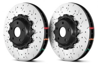 DBA® - HD Series™ 5000XS Series Drilled and Slotted 2-Piece Front Brake Rotor
