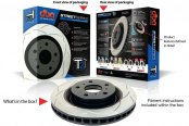 DBA® - Street Series™ T2 Slotted Brake Rotors