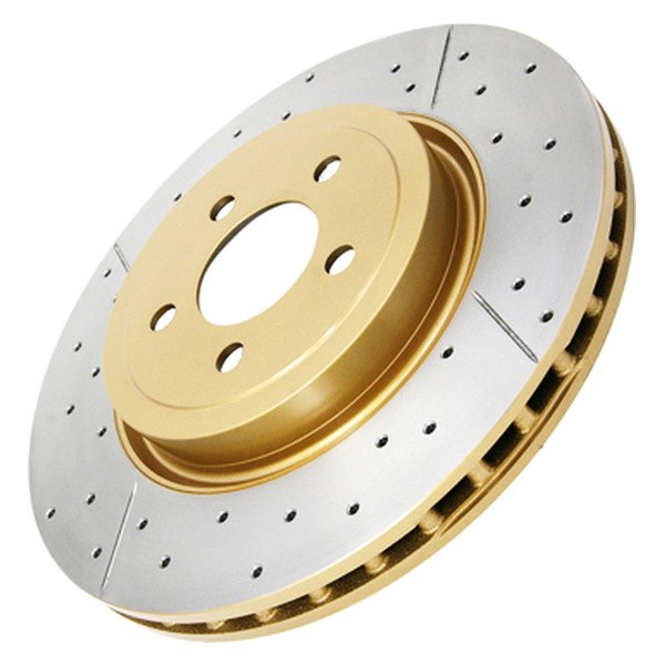 DBA® - Street Series™ XGold Drilled and Slotted Front Rotor