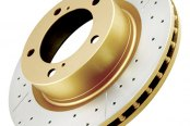 DBA® - Street Series™ XGold Drilled and Slotted Rear Rotor